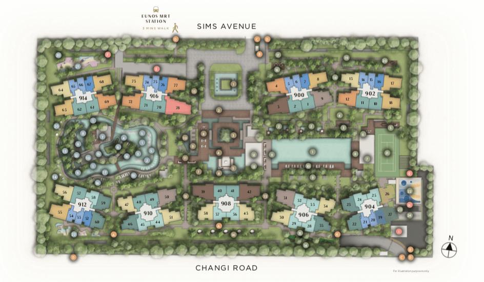 Site Plan - Parc Esta
