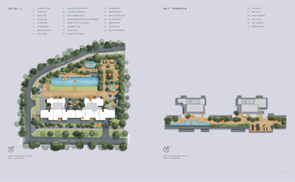The Hyde Balmoral Site Plan